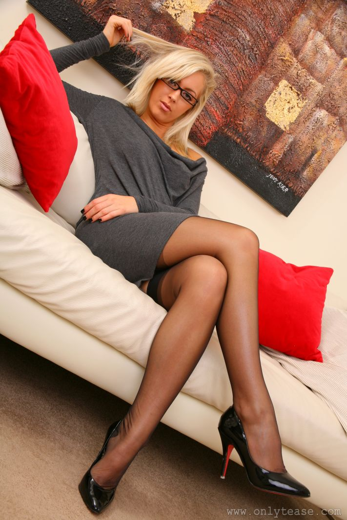 Something only tease nylons and legs remarkable