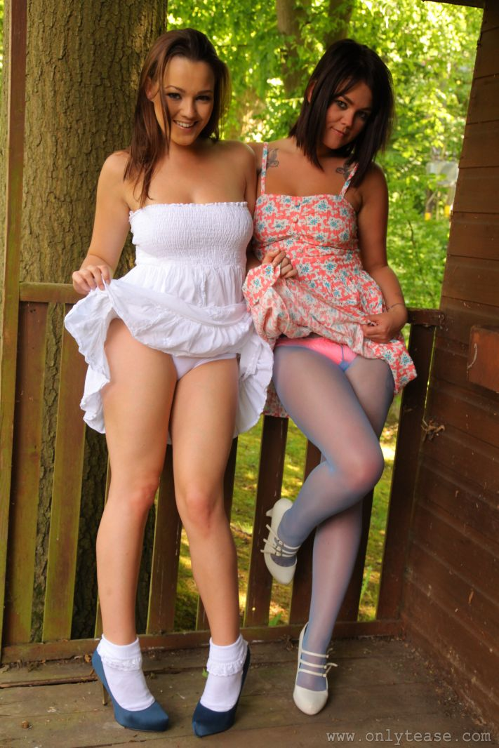 Ain't nothing preteez pantyhose model
