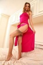 Leggy Eufrat In Full Length Dress - Picture 12