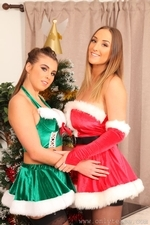 Stacey P And Sarah Looking Amazing For Christmas - Picture 2